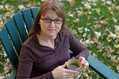 tid för tea 2 arkivfoton