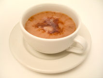 tid för tea 3 royaltyfri bild