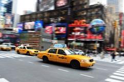 Tid fyrkant i Manhattan New York Fotografering för Bildbyråer