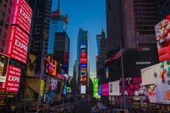 Tid fyrkant, New York City Royaltyfri Foto