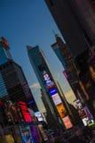 Tid fyrkant, New York City Royaltyfria Bilder