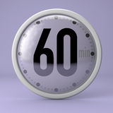Tid klocka, tidmätare, stoppur Arkivfoton