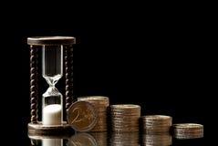 Tid och pengar fotografering för bildbyråer