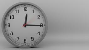 Tid schackningsperiod av den gråa klockan som mäter av 30 minuter längd i fot räknat 4k stock video