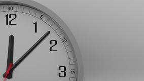 Tid schackningsperiod av den gråa klockan som mäter av 15 minuter längd i fot räknat 4k lager videofilmer