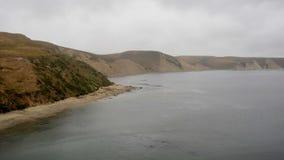 Tid schackningsperiod av punkt Reyes National Seashore California lager videofilmer