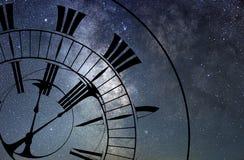 Tid snedvrider Tid och utrymme, allmän relativitet royaltyfri fotografi