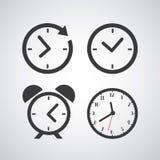 Tid symbol Fotografering för Bildbyråer