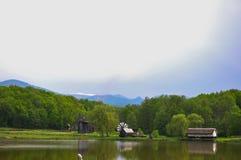 Tid väderkvarn Fotografering för Bildbyråer