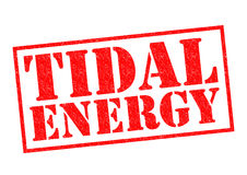 TIDAL ENERGY Royalty Free Stock Images
