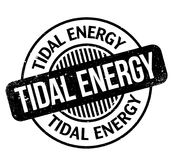 Tidal Energy rubber stamp Royalty Free Stock Images