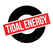 Tidal Energy rubber stamp Royalty Free Stock Photography
