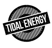 Tidal Energy rubber stamp Stock Photos
