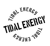 Tidal Energy rubber stamp Royalty Free Stock Photos