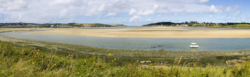 Tidal estuary Stock Photography