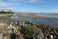 Tidal flats Royalty Free Stock Photography