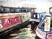 Tidal Lock Cromwell Royalty Free Stock Image