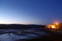 Tidal mill near Portimao Stock Image