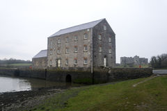 Tidal mill, Pembrokeshire, Wales Stock Photography
