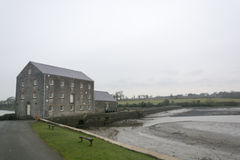 Tidal mill, Pembrokeshire, Wales Stock Photos