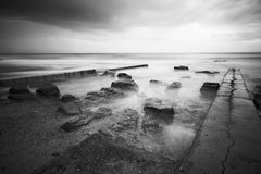 Tidal pool in the sea Royalty Free Stock Image