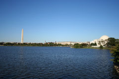 Tidal pool Washington DC Royalty Free Stock Photo