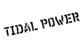 Tidal Power rubber stamp Royalty Free Stock Photos
