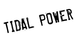 Tidal Power rubber stamp Royalty Free Stock Photo