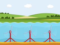 Tidal power station. Stock Photography