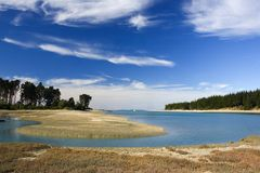 Tidal River. Inlet, Mapua, Nelson Area, New Zealand Royalty Free Stock Photos