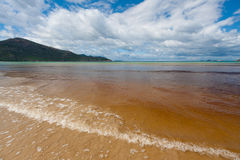 Tidal river beach landscape, Wilsons Promontory National Park, A Royalty Free Stock Photography