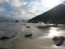 Tidal River. Beautiful sunshine at Wilsons Prom Stock Images