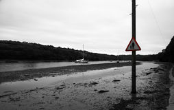 Tidal Road Stock Images