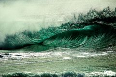 Tidal Wave Wall Painring Royalty Free Stock Photography