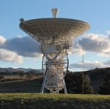 Tidbinbilla Radio Telescope Stock Photography