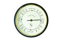 Tide clock Stock Image