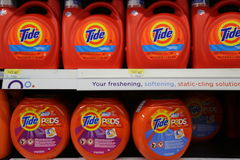 Tide Laundry Detergent Stock Photos
