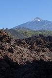 Tide. National Park Teide. Hiking on Tenerife. Royalty Free Stock Photography