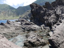 Tide Pool trail,  Saba Royalty Free Stock Photography