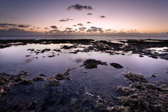 Tide Pools at Sunrise Royalty Free Stock Image