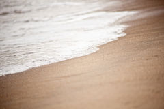 Tide at Virginia Beach Stock Photography