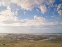 Tideland de la marea inferior Imágenes de archivo libres de regalías