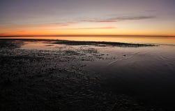 Tidepools en el amanecer Imagenes de archivo