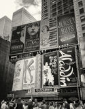 Tider kvadrerar, Broadway, New York City Royaltyfri Foto