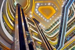 Tider kvadrerar inre, Hong Kong Arkivfoton