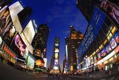 Tider kvadrerar New York Fotografering för Bildbyråer