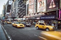 Tider kvadrerar, New York Royaltyfri Foto