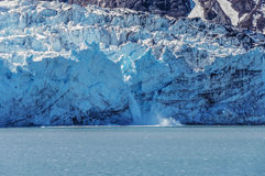 Tidewater glacier, springtime, Alaska Royalty Free Stock Image