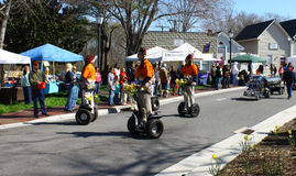 Tidewater Shriner's on segways Stock Photography