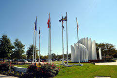 Tidewater Veterans Memorial, Virginia Beach Stock Photography